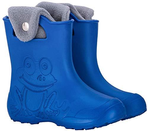 LBC Leon Boots Co FRBL26, Mädchen Stiefel & Stiefeletten blau 26/27 EU - 8,5/9 UK