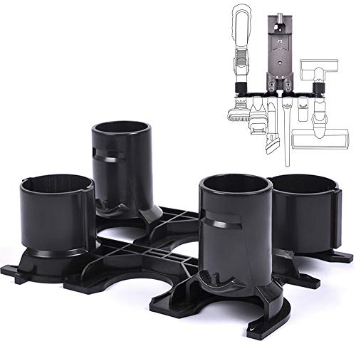 KEEPOW 2 Pack Accessory Holder Docking Station Compatible with Dyson V6 DC58 DC59 DC61 DC62