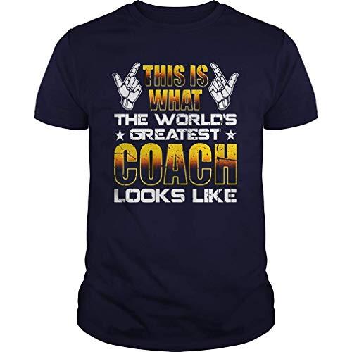 Hunter qiang Camiseta del Mejor Entrenador de la Historia Este es el Mejor Entrenador del Mundo XXL