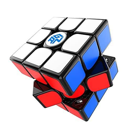 GAN 11 M Pro Stickerless Speed Cube Profession Magic Puzzle Rompecabezas Juguete,Sticker Version