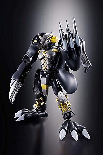 "Bandai Tamashii Nations Digivolving Spirits 08 Black Wargeymon ""Digimon"" Action Figure"