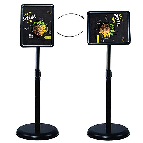 Business & Store Sign Holder Floor Stand 8.5