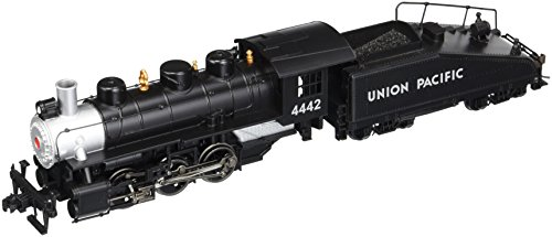 Bachmann Industries Usra 0-6-0 HO Scale #4442 U.P Locomotive, Silver and Black