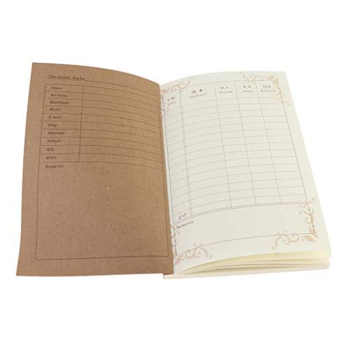 Geschäftsbuch Spaltenbuch Kassenbuch DIN A5 Größe: 206×138mm, Bar-Einzahlungen + Auszahlungen