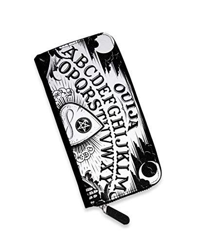 Liquor Brand - Damen Geldbörse Portemonnaie Tattoo Style - Ouija Board
