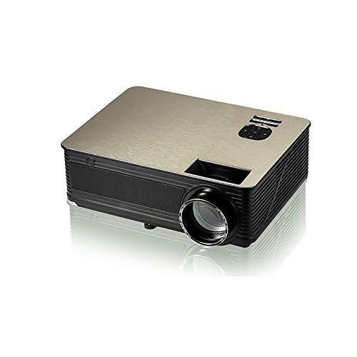 Projektor, 4000 Lumen VOLLER HD-Videoprojektor 1280 * 720P Android 6.0OS 4K LCD-Film-Projektor-Unterstützung 1080P HDMI Handels-USB Ideal Für Hauptunterhaltungs-Party-Spiel