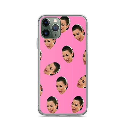 Phone Case Crying Kim Kardashian Compatible with iPhone 12 11 X Xs Xr 8 7 6 6s Plus Mini Pro Max Samsung Galaxy Note S9 S10 S20 Ultra Plus