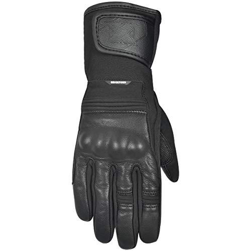 GM172405XL - Guantes de moto Oxford Calgary 1.0 XL negro sigilo impermeable
