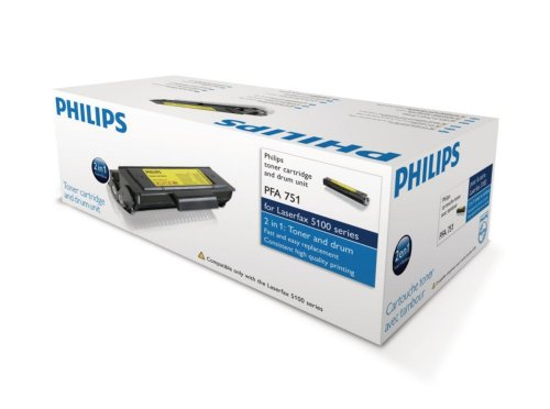 Philips PFA-751 PFA 751 Tonerkartusche mit Trommel, schwarz