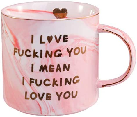 Lapogy I Love You Coffee Mug for Her Funny Girlfriend gifts Funny Christmas Birthday Gifts Mug product image