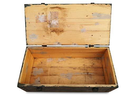 WoMa Kreativ 1 x Originale Munitionskiste Holzkiste aus Holz, Lagerkiste Werkzeugkiste, Transportkiste, Truhe, Dekokiste - 5