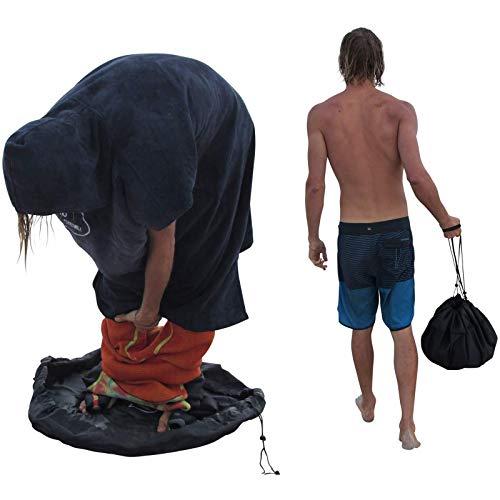HUWENJUN123 Bolsa para Cambiador de Playa de 51 Pulgadas, Impermeable para Almacenamiento, Traje de Buceo/Ropa de baño