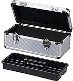 アイリスオーヤマ アルミケース 工具収納ケース 工具箱 W約44×D約23.5×H約22cm AM-45T
