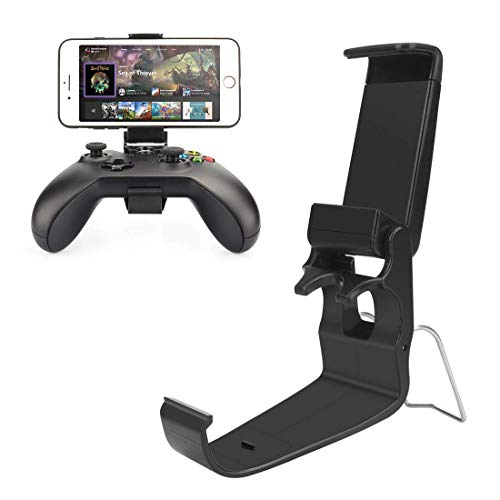 Xrten Xbox Phone Holder, Supports de Téléphone Portable Pliables pour Manette de Jeu Xbox One S/X,Contrôleur sans Fil
