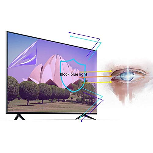 LOOML Anti Glare TV Screen Protector Blue Light Filter for 46 Inches TV,A HD Eye Protection Screen Protector
