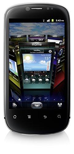 Huawei Vision U8850 Smartphone (9,4 cm (3,7 Zoll) Display, 5 Megapixel Kamera, 1 GB Intern Speicher, Android 2.3) Silber/Schwarz