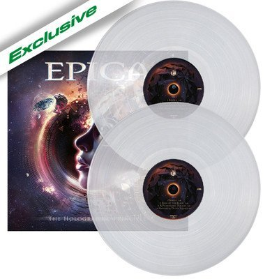 EPICA, The holographic principle CLEAR VINYL - 2LP
