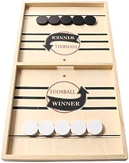 بازی بزرگ Sling Puck ، بازی روی میز Foosball Winner ، بازی روی میز چوبی هاکی ، تخته بازی Slingshot ، بازی Super Winner Speed Puck برای بزرگسالان ، اندازه بزرگ