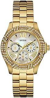 Guess Dress Watch for Women - Analog / Gold Metal - w0632l2
