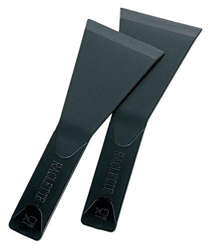 kela Raclettespateln-Set Pillon 8-teilig as Nylon in schwarz, 13 x 5 x 2 cm, 8-Einheiten