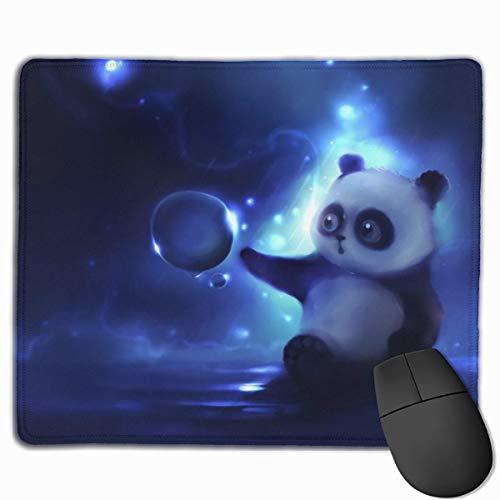 Animal lindo bebé panda alfombrilla de ratón para juegos alfombrilla de ratón rectangular personalizada alfombrilla de ratón para juegos de computadora goma antideslizante para pc y computadora portát