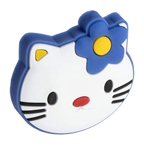 Gedotec Gummigriff Kinder-Möbelknopf Motiv Möbelgriff für Schubladen im Kinderzimmer & Möbel - Hello Kitty | Gummi Speichelecht | Schubladen-Knopf elastisch | 1 Stück - Kinder-Griff für Schrank-Türen