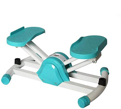 RVTYR Silent-Design-Aerobic Fitness Stepper - Up-down Mini Stepper - Aerobic Steps mit Trainer Ropes-Widerstand-Bänder und Digitalanzeige, Weiss steppbrett