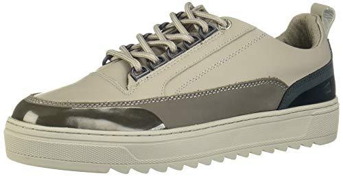 Steve Madden Mens Vandal Sneaker, Grey,11.5