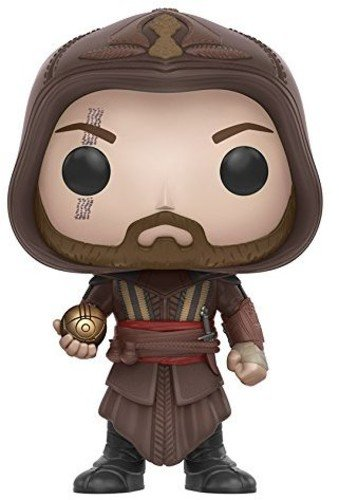 Funko 11530 Assassin's POP Vinylfigur: Assassin's Creed – Der Film: Aguilar, braun, Einheitsgröße