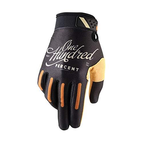 100% Bike-Handschuhe Ridefit Schwarz Gr. S