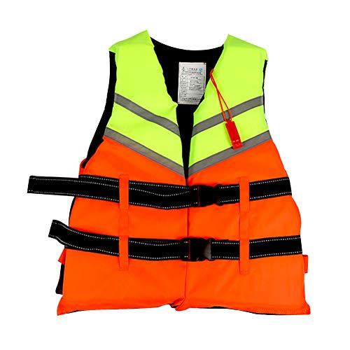 Guanglongli Chaleco Salvavidas de Espuma,Chaleco de natación de flotabilidad, Chalecos Salvavidas de Seguridad, Profesional, Ajustable, Ligero,Duradero,para Deportes acuáticos,Adultos/niños
