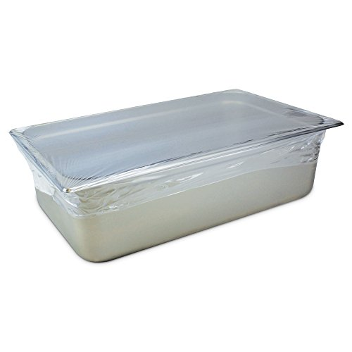 PanSaver 44701 Full Cooking Clear Disposable Pan Covers for Food, (50