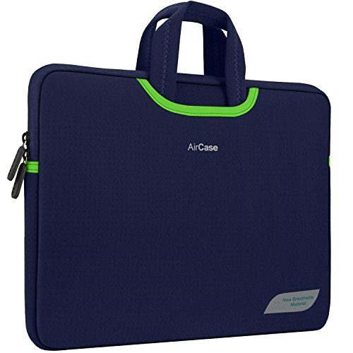 AirCase Laptop Bag Sleeve Case Cover for 13-Inch/ 14-Inch Laptop MacBook |...