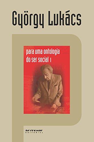 Para uma ontologia do ser social 1
