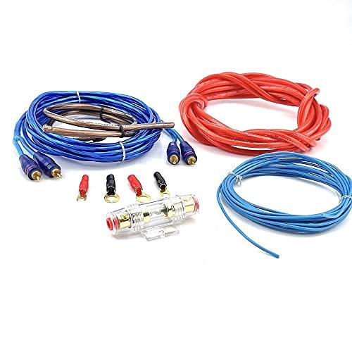 Car-Hifi Verstärker Endstufe Kabelsatz, 10mm²