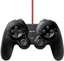 エレコム ゲームパッド <DUX> USB 24ボタン MMO向け ブラック JC-DUX60BK