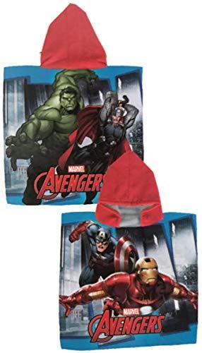 Toalla Avengers Poncho Avengers Microfibra Los Vengadores 50x100cm