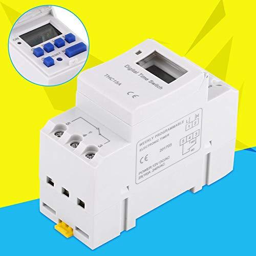 Aeloa Elektronisches Relais zeitverzögertes Zeitrelais elektronisch 16A AC250V oder AC/DC12-110V(24V)