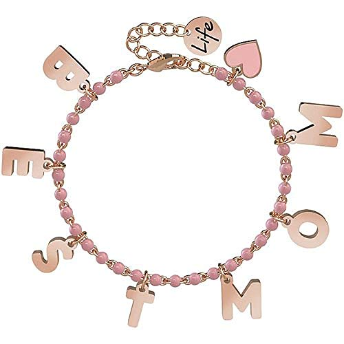 Bracciale Kidult in Acciaio e Smalti | Best Mom – Family – 731591