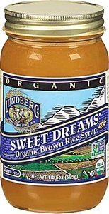 Lundberg - Sweet Dreams Organic Brown Rice Syrup, USDA Organic, Non GMO, Gluten Free, 1 lb 5 oz (Pack of 3) by Lundberg