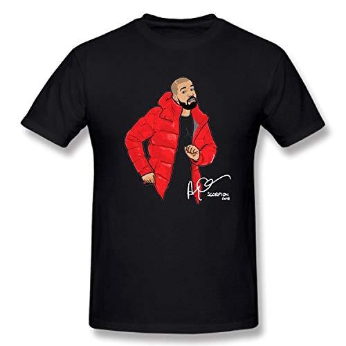 TTXDD® Aubrey Drake T-Shirts Graham Cotton Men's T-Shirts Short Sleeve