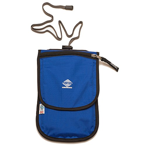 Aqua-Quest 'The Continental' Waterproof Wallet Travel Pouch - Blue Model