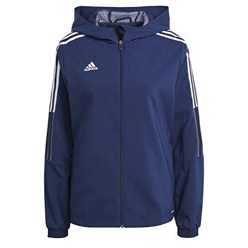 adidas GP4968 TIRO21 WB W Jacket women's team navy blue L
