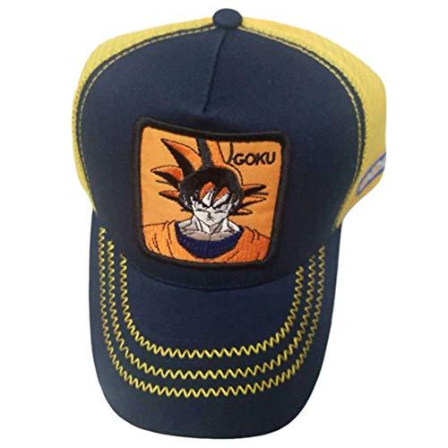 zhongjiany Goku Dragon Ball Z Cap Goku vegeta Sombrero Béisbol snapback animado kame presell(Free Style05)