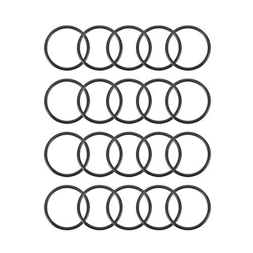 sourcingmap 20ST 22 mm esterno da 1,5 mm spessore phoenixarts - o-anelli sigillo in gomma