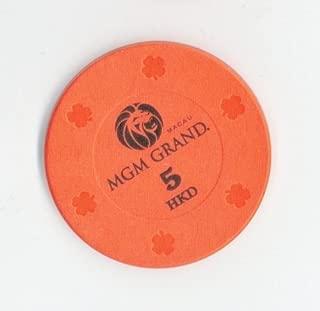 Macau,China 5 Hong Kong Dollars Original Casino Chip from MGM Grand in