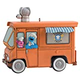 Hallmark Keepsake Christmas Ornament 2020, Sesame Street Cookie Monster's Foodie Truck With Sound