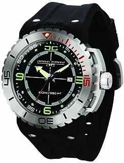 ヨーグ グレイ Jorg Gray JG8700-11 Black Rubber Silver Matte 3 Hand Mens Wrist Watch 女性 レディース 腕時計 【並行輸入品】
