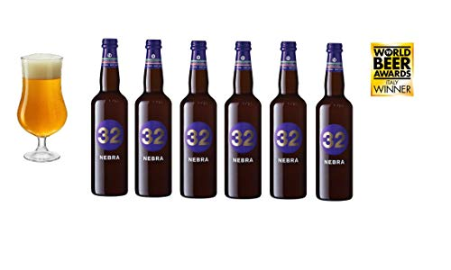 32 Via dei Birrai NEBRA Cerveza Artesanal Italiana [ 6 BOTELLAS x 750ml ]