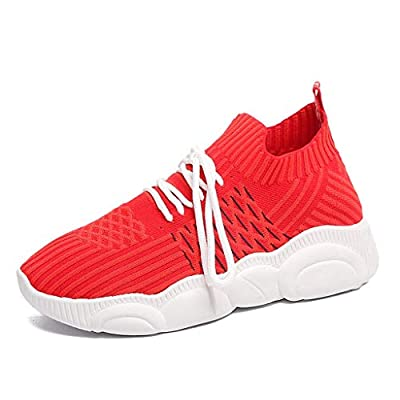 RAINED-Women's Slip On Walking Shoes Lightweight Casual Running Sneakers Breathable Casual Sports Shoes Low Top Sneaker